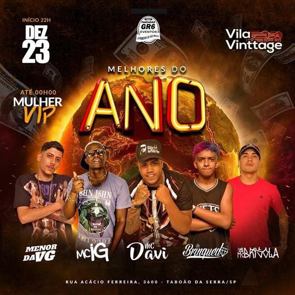 Melhores do Ano - Vila Vinttage - 23/12/18 - Taboão da Serra - SP