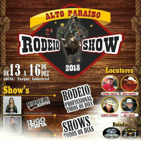 Michelle Santos - 13/12/18 - Alto Paraíso - PR
