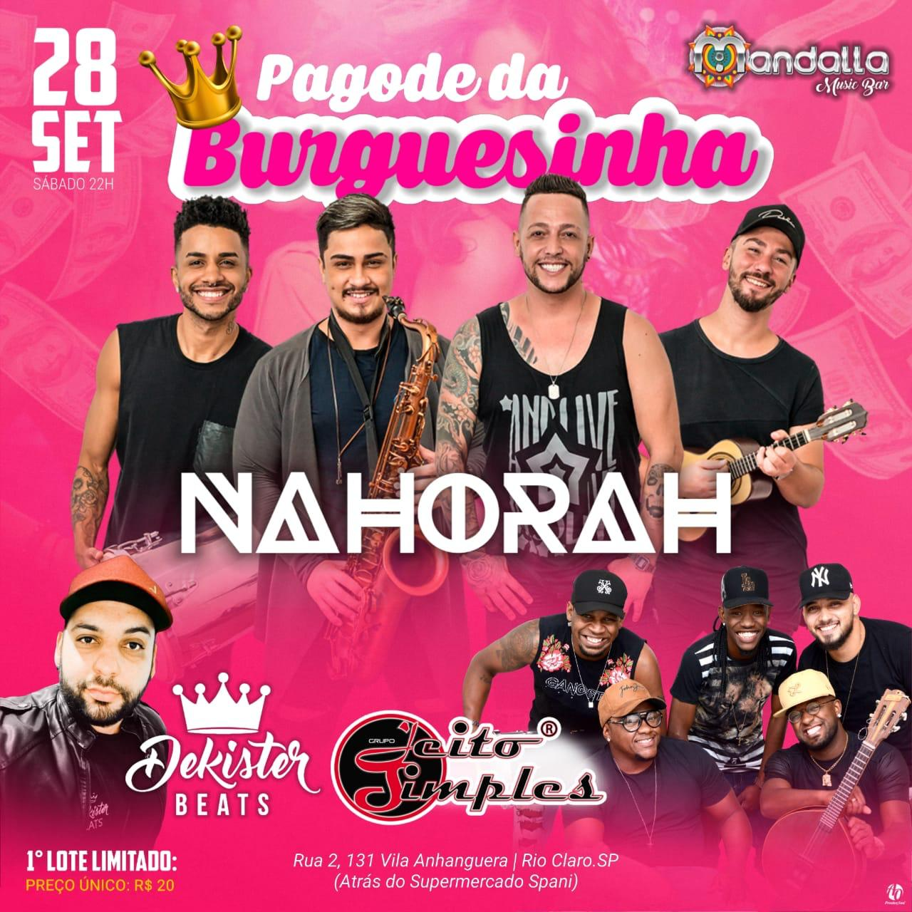 NaHorah - Mandalla Music Bar - 28/09/19 - Rio Claro - SP