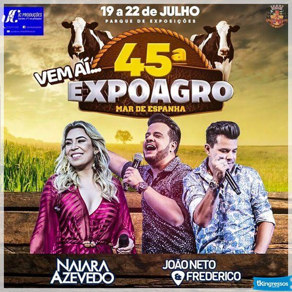 Naiara Azevedo - 20/07/18 - Mar de Espanha - MG