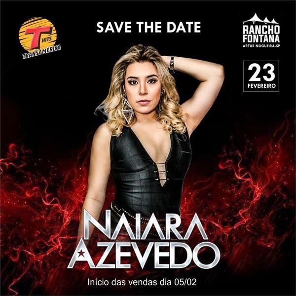 Naiara Azevedo - 23/02/19 - Artur Nogueira - SP