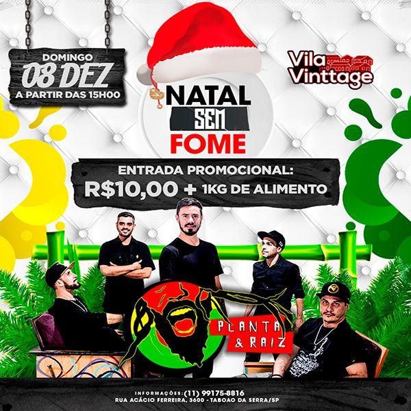 Natal Sem Fome - Vila Vinttage - 08/12/19 - Taboão da Serra - SP