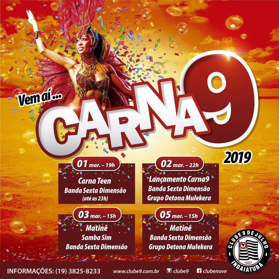 Noite de Carnaval - 02/03/19 - Indaiatuba - SP
