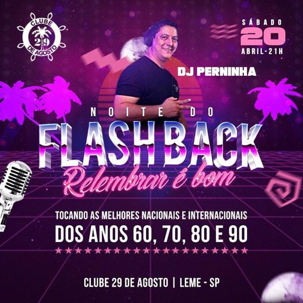Noite Do FlashBack - 20/04/19 - Leme - SP