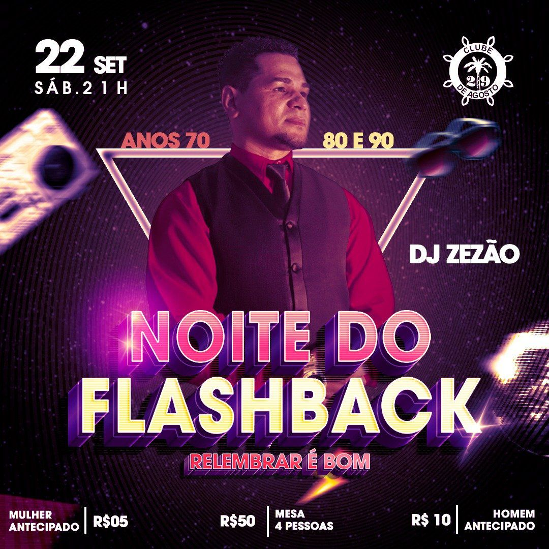 Noite do FlashBack - 22/09/18 - Leme - SP