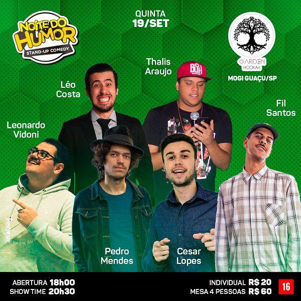 Noite do Humor - 19/09/19 - Mogi Guaçu - SP