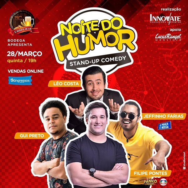 Noite do Humor - 28/03/19 - Itapira - SP