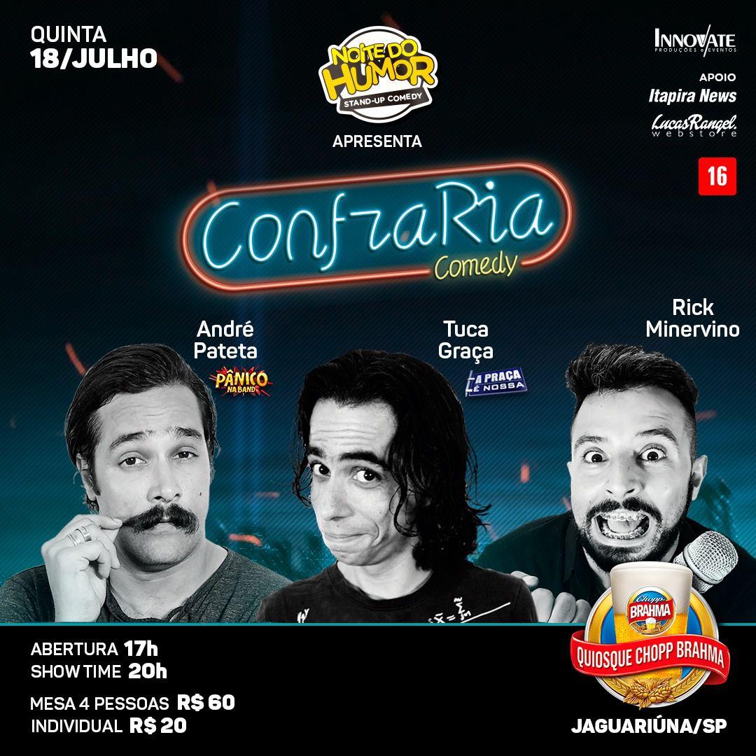 Noite do Humor - Jaguary Bar - 18/07/19 - Jaguariúna - SP
