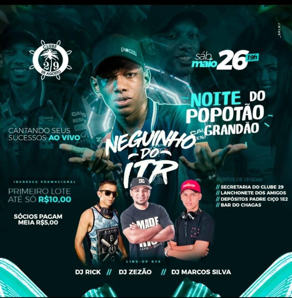 Noite do Popotão - 26/05/18 - Leme - SP