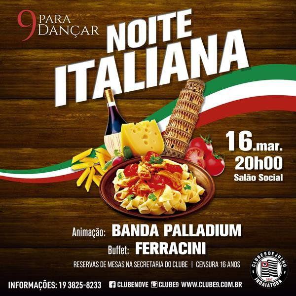 Noite Italiana - 16/03/19 - Indaiatuba - SP