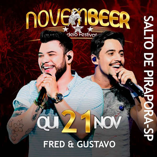 NovemBeer Rodeio Festival - Quinta-feira - 21/11/19 - Salto de Pirapora - SP