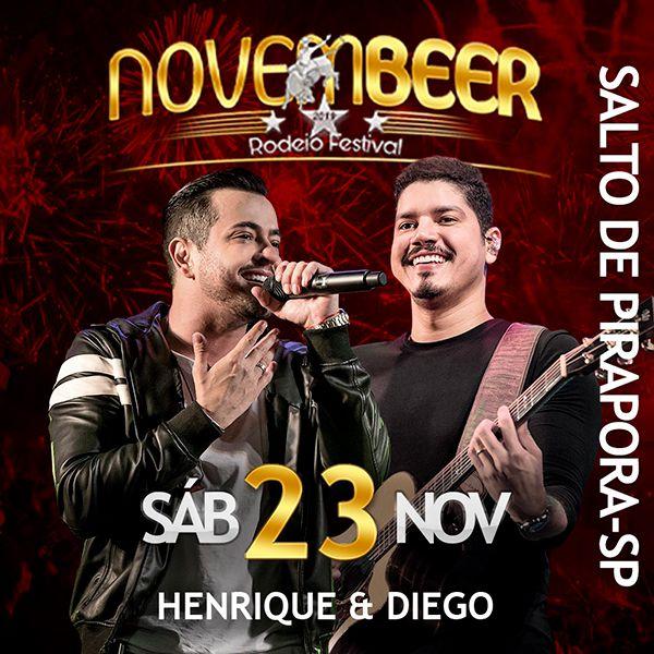 NovemBeer Rodeio Festival - Sábado - 23/11/19 - Salto de Pirapora - SP