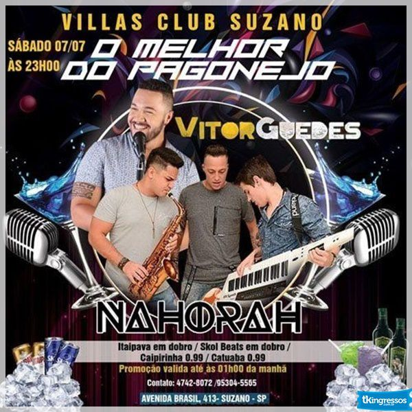 O Melhor do Pagonejo - Villas Club - 07/07/18 - Suzano - SP