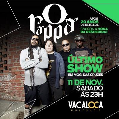 O Rappa - 11/11/17 - Mogi das Cruzes - SP