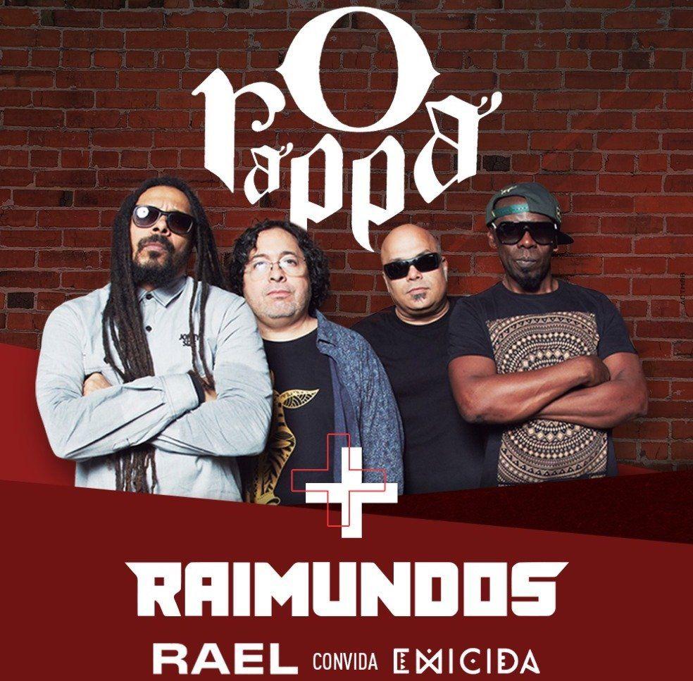 O Rappa+Raimundos+Rael+Emicida - Vacaloca Multshow - 08/04/18 - Mogi das Cruzes - SP