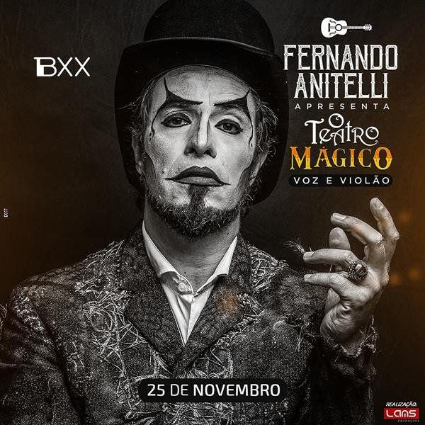 O Teatro Mágico (Voz e Violão) - 25/11/18 - Mogi das Cruzes - SP