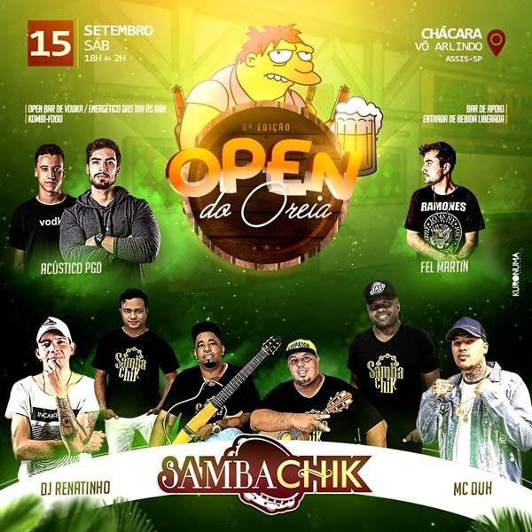 Open do Oreia - 15/09/18 - Assis - SP