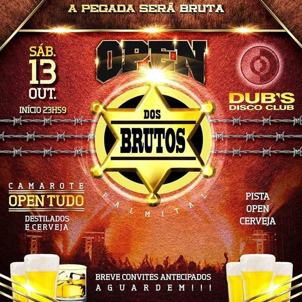 Open dos Brutos - 13/10/18 - Palmital - SP