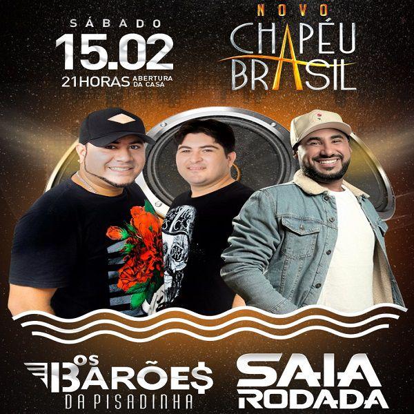 Os Barões da Pisadinha - Chapéu Brasil - 15/02/20 - Sumaré - SP