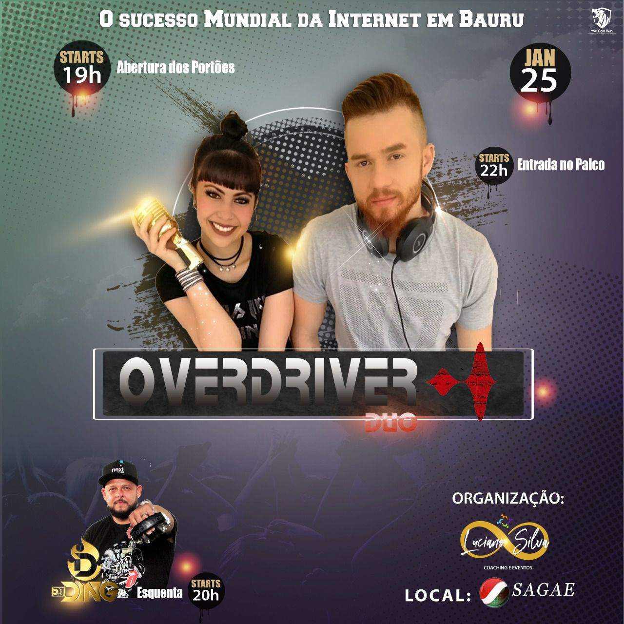 Overdriver Duo - 25/04/20 - Bauru - SP