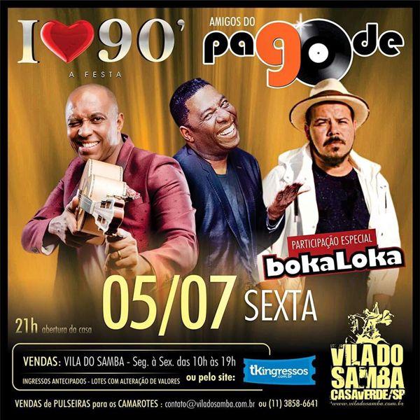 Pagode 90 - Vila do Samba - 05/07/19 - São Paulo - SP