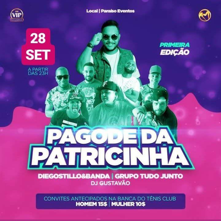 Pagode da Patricinha - 28/09/18 - Presidente Prudente - SP