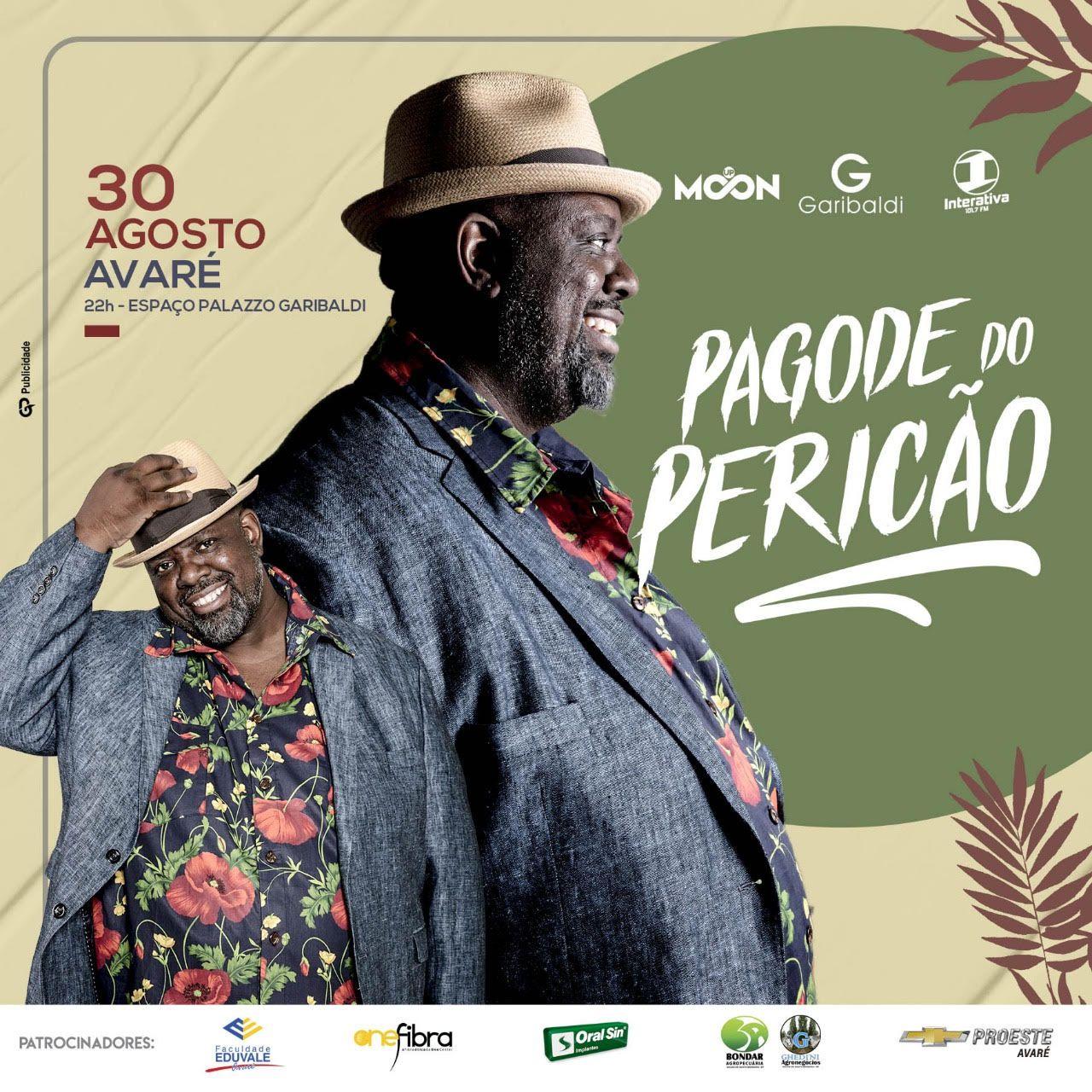Pagode do Pericão - 30/08/19 - Avaré - SP