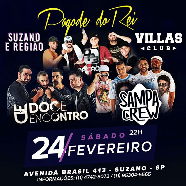 Pagode do Rei - 24/02/18 - Suzano - SP
