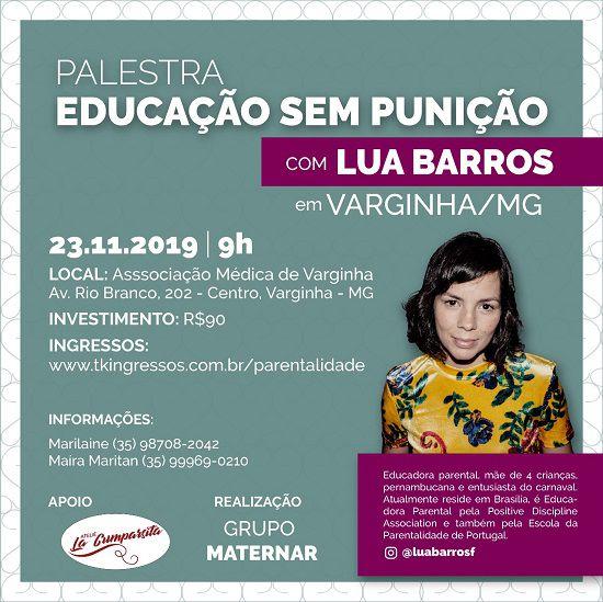 Parentalidade Positiva - Educação sem Violência - 23/11/19 - Varginha - MG