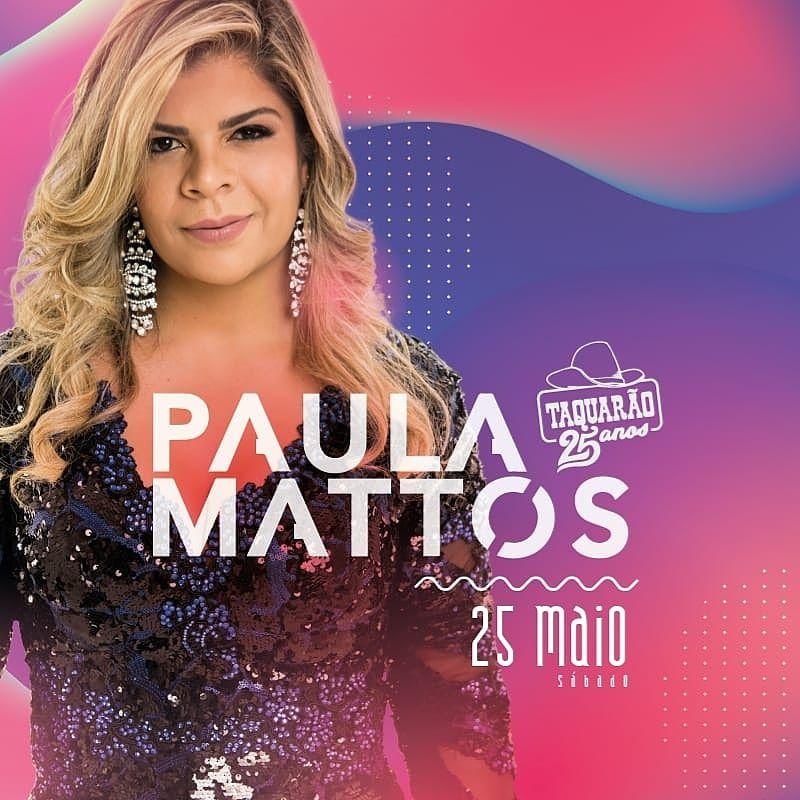 Paula Mattos - 25/05/19 - Taquarivaí - SP