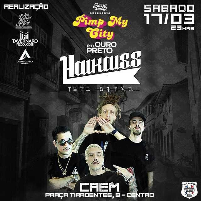 Pimp My City - 17/03/18 - Ouro Preto - MG