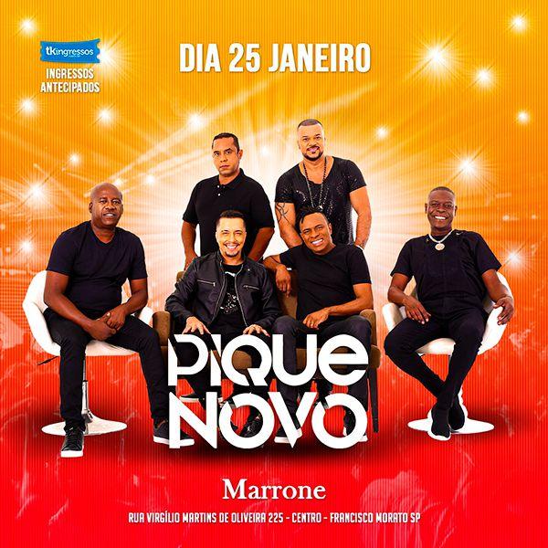 Pique Novo - Marrone - 25/01/20 - Francisco Morato - SP