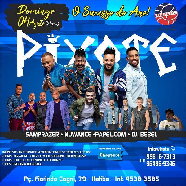 Pixote - 04/08/19 - Itatiba - SP