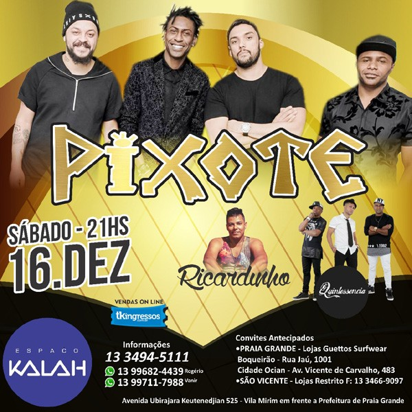 Pixote - 16/12/17 - Praia Grande - SP