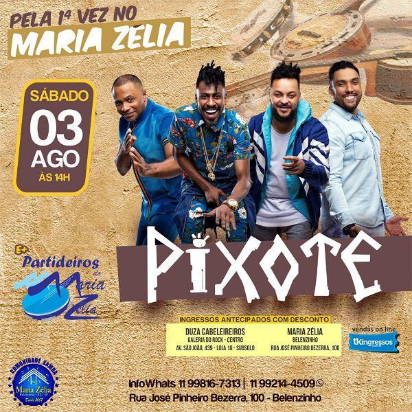 Pixote - Maria Zélia - 03/08/19 - São Paulo - SP