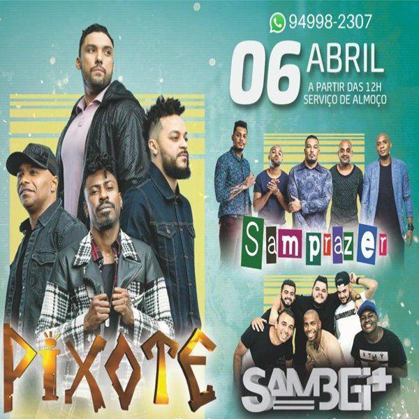 Pixote Samprazer e Cleverson Luiz no Camisa Verde e Branco - 06/04/19 - São Paulo - SP