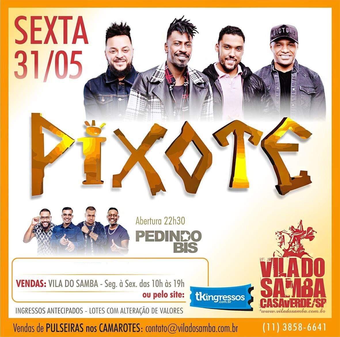 Pixote - Vila do Samba - 31/05/19 - São Paulo - SP