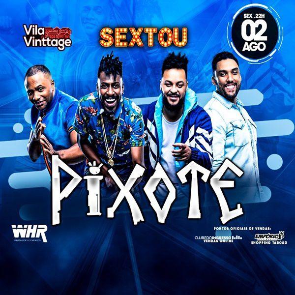 Pixote - Vila Vinttage - 02/08/19 - Taboão da Serra - SP