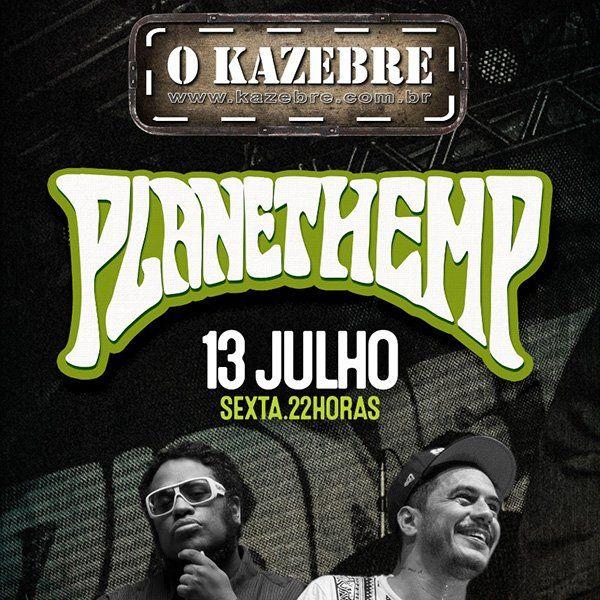 Planet Hemp - O Kazebre - 13/07/18 - São Paulo - SP