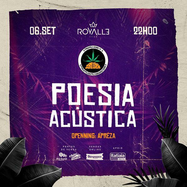 Poesia Acústica - 06/09/19 - Varginha - MG