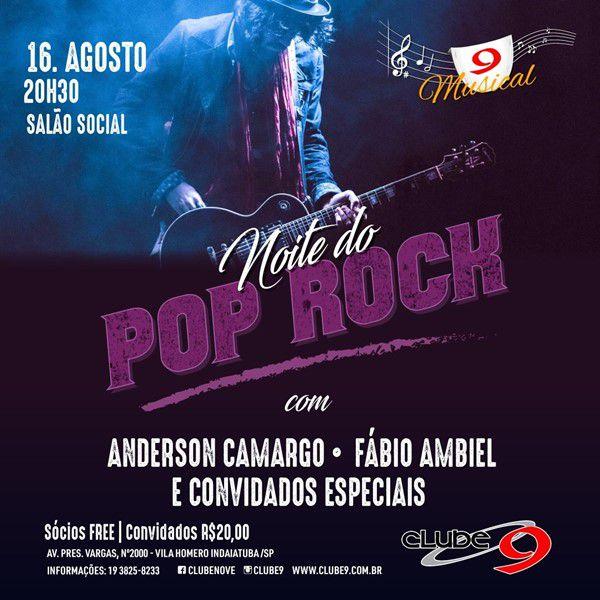 Pop Rock - 16/08/19 - Indaiatuba - SP