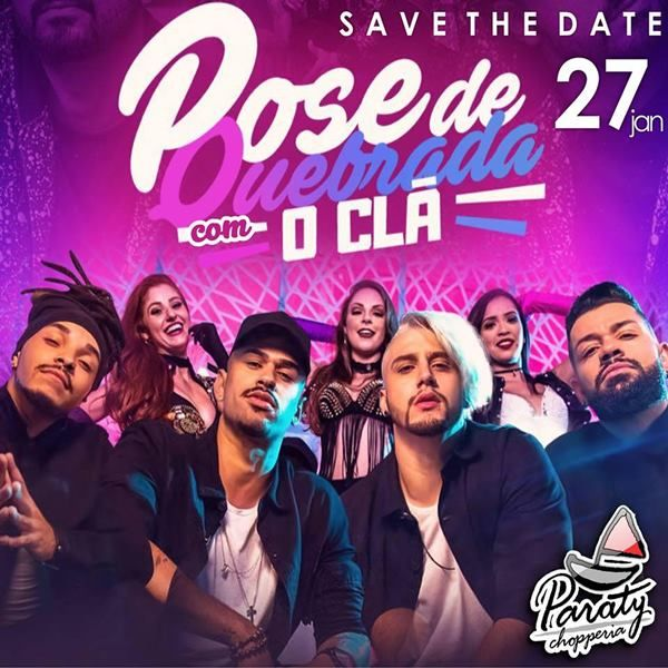Pose de Quebrada - Chopperia Paraty - 27/01/18 - Amparo - SP