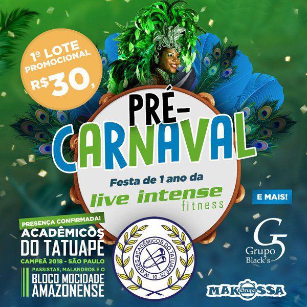 Pré Carnaval - 01/02/19 - Caçapava - SP