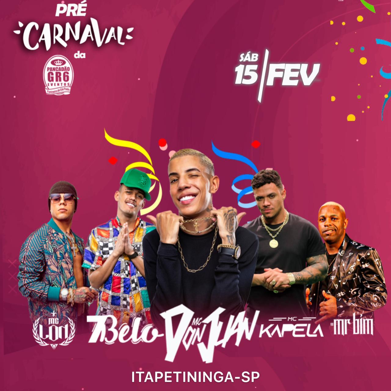 Pré Carnaval GR6 - 15/02/20 - Itapetininga - SP