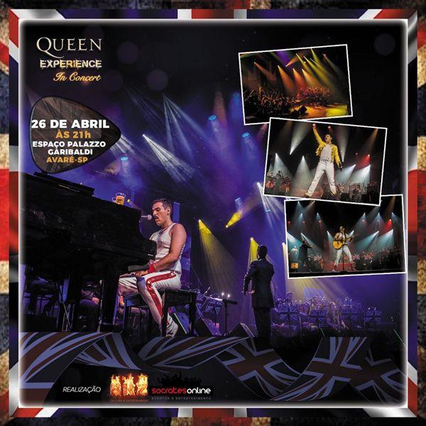 Queen Experience In Concert - 26/04/19 - Avaré - SP