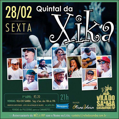 Quintal da Xika - Vila do Samba - 28/02/20 - São Paulo - SP