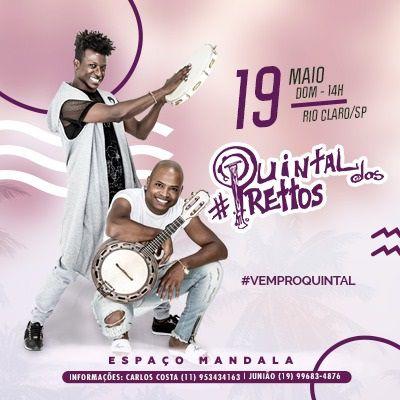 Quintal dos Prettos - 19/05/19 - Rio Claro - SP