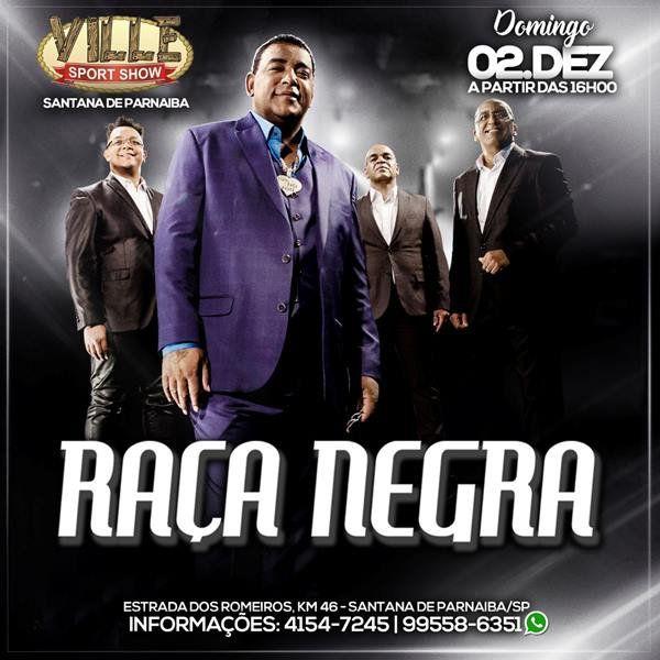 Raça Negra - 02/12/18 - Santana de Parnaíba - SP