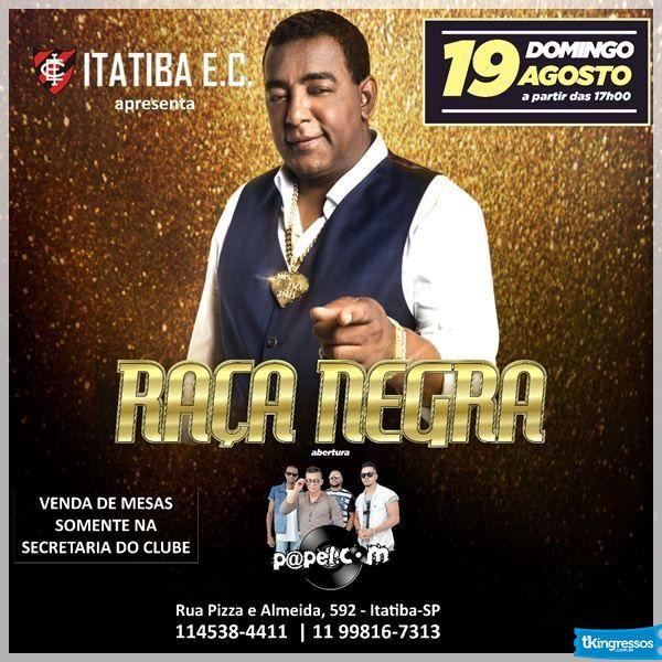 Raça Negra - 19/08/18 - Itatiba - SP