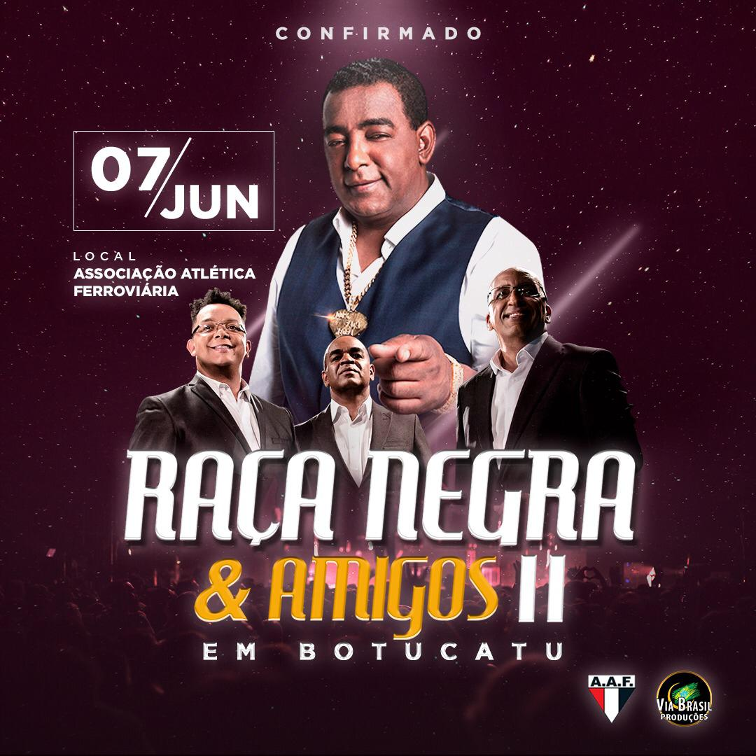 Raça Negra - Via Brasil - 07/06/19 - Botucatu - SP